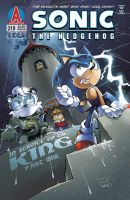 Sonic the Hedgehog 219 Cover by herms85