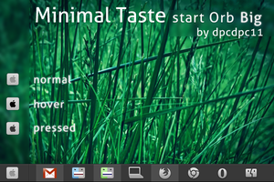 Minimal Taste start Orb Big by dpcdpc11
