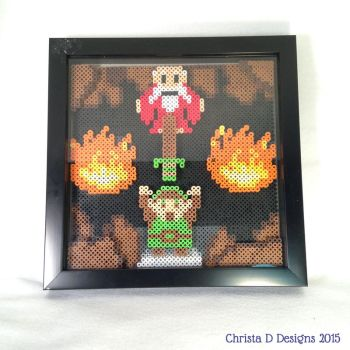 Dangerous to Go Alone Shadowbox by ChrisWithATa