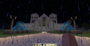 Minecraft Rathaus / Town hall by CelCel98