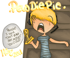 PewDiePie and Stephano by HannahRenae