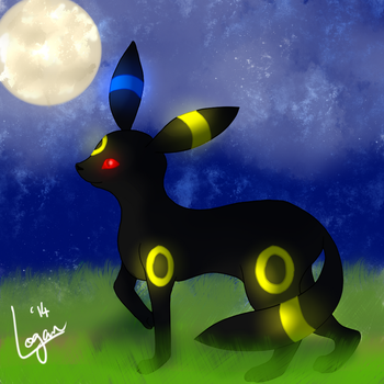 Umbreon by Ch3m1c4ls