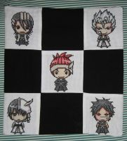 Bleach chibi pillow case by FromOutside