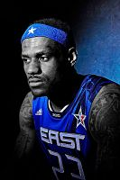LeBron James All Star by rhurst
