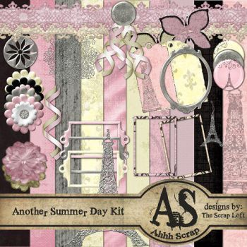 Another Summer Day Scrap Kit by kizgold
