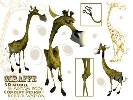 Giraffe Model by AddamPool