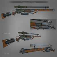 Pneumatic Rifle by Psycho4140