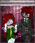 Scarlet and Kelpie by TaintedTruffle