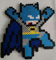 Batman Mega Man Perler by Perler-Pop