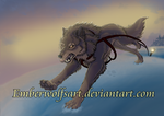 Gift: Balto Far away from Nome . Semi-realism by EmberWolfsArt