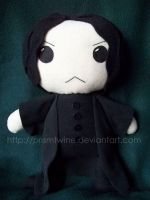 Commish: BIG Severus Snape by prismtwine