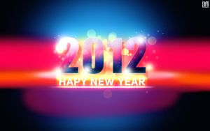 New Year 2012 wallpaper by Chipson