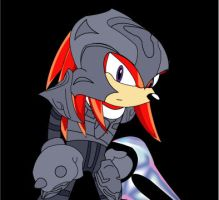 Knuckles as the Arbiter by TheWax