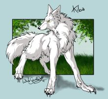 .::Wolfs Rain_Kiba::. by WhiteSpiritWolf