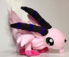 Digimon - Magnadramon custom plush by Kitamon