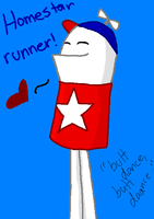 cute homestar runner by Nat-Skellington