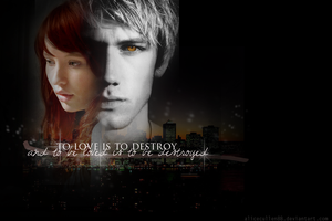 Jace and Clary Wallpaper by AliceCullen88