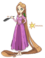 Rapunzel - Tangled by BubblyBlu