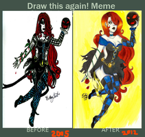 Draw This Again Meme by CosmicCherry
