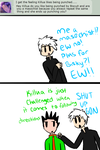 Ask- Killua the Masochist by CCPizza-Productions