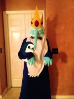 my ice king cosplay by Immarumwhore