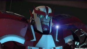 Transformers prime Ratchets funny face by Lillypad135
