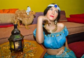 Jasmine from Aladdin cosplay fairytale by chamellephoto