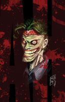 Joker New 52 by michelebandini
