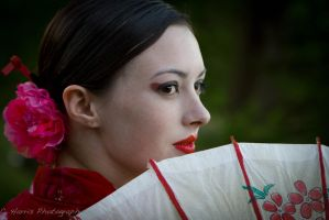 Geisha girl 2 by CHarrisPhotography