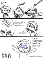 National leaves by Land-of-her-People