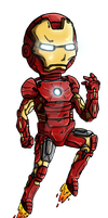 Iron Man by Hazeloop