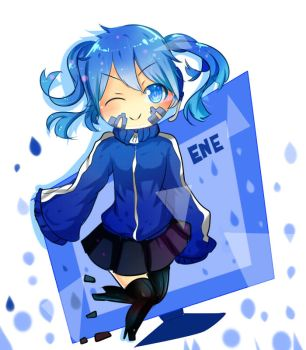 Collab - [Ene] from Kagerou Project by Maika-Nijihara