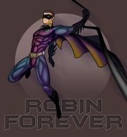 ROBIN FOREVER and EVER by benlikesit