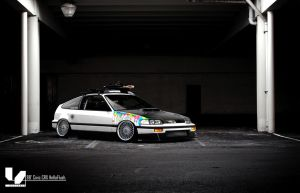 88' Civic CRX HellaFlush by alemaoVT