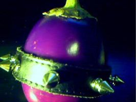 Punky The Eggplant by earthly-delight