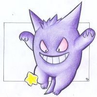 Star - Gengar .:colour:. by Fluna