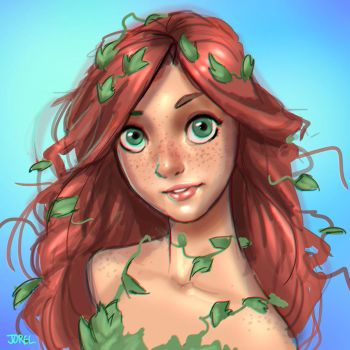 Poison Ivy by DaveJorel