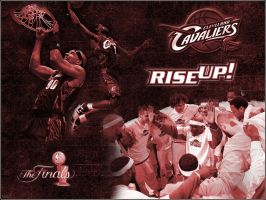 Cleveland Cavaliers Wallpaper by Bound-By-Leather