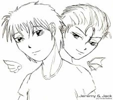 Sketch - A:R - Jeremy and Jack by rthr-x