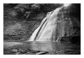 2014-213 Upper falls at Stonybrook by pearwood
