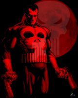 Blood Moon Punisher by joephotoshop
