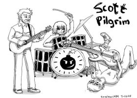 Band Practice - Scott Pilgrim by Saylom1234
