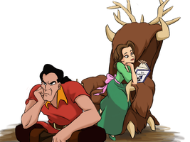 Gaston's  Boring Marriage Life by Wednesday2021