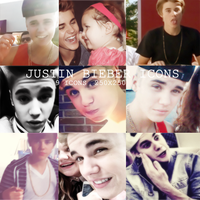JUSTIN BIEBER ICONS. by yeahjeliebers
