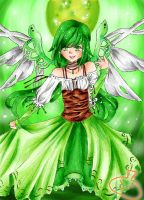 Emerald Angel -Coloured- by chobits197