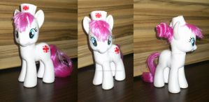 Nurse Red Heart custom by angel99percent