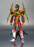 What-If - SHF Red Sentinel Ranger by Zeltrax987