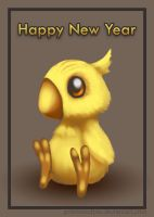 Happy Kweh Year by priestessofpie