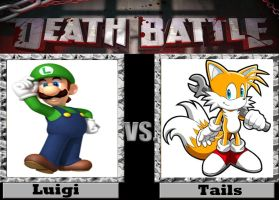 Deathbattle Suggestion: Tails V.S. Luigi by NewBlood7
