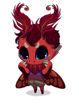 Little moth spriggan by painted-bees